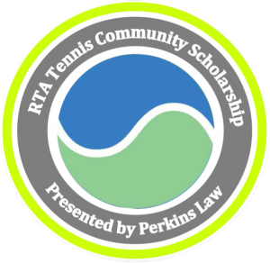 RTA Tennis Community Scholarship Logo