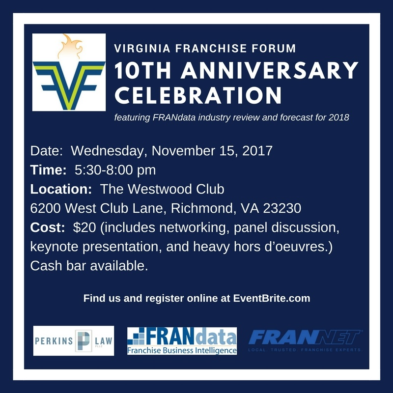 Perkins Law, PLLC | Virginia Franchise Forum – 10th